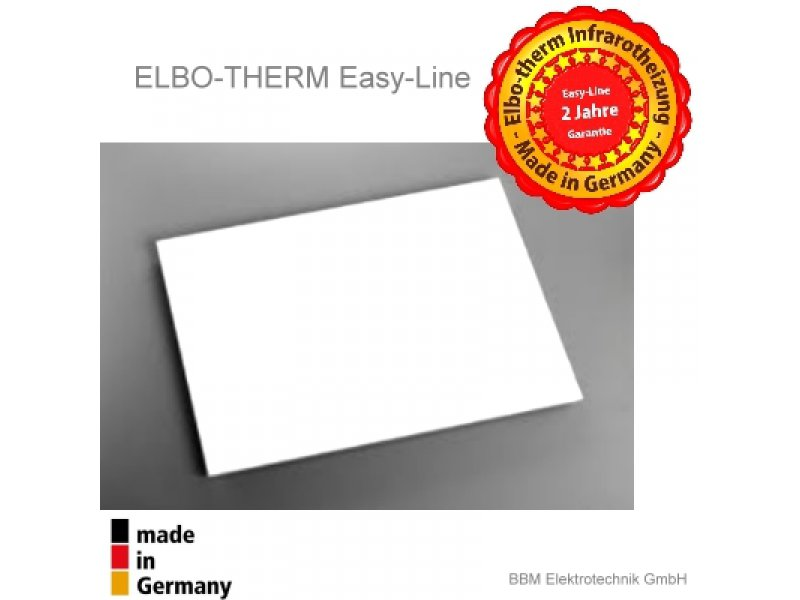 infrarotheizung elbo therm easy 200 watt 169 00. Black Bedroom Furniture Sets. Home Design Ideas